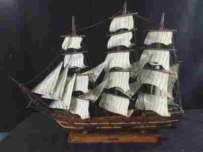 Spanish Naval War Ship Replica