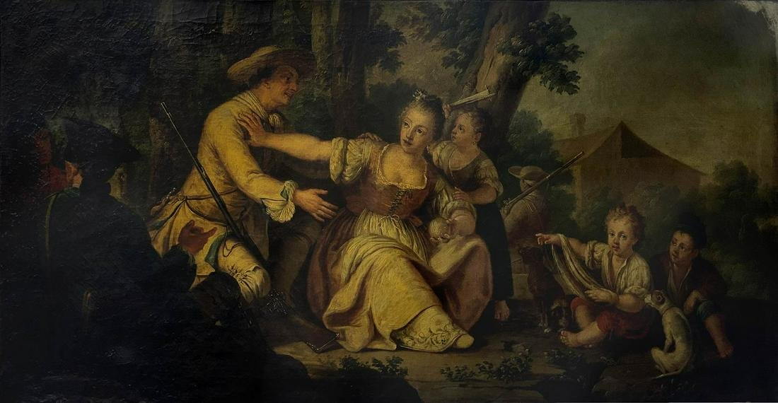 Painter from the 18th century. northernItaly. Romantic