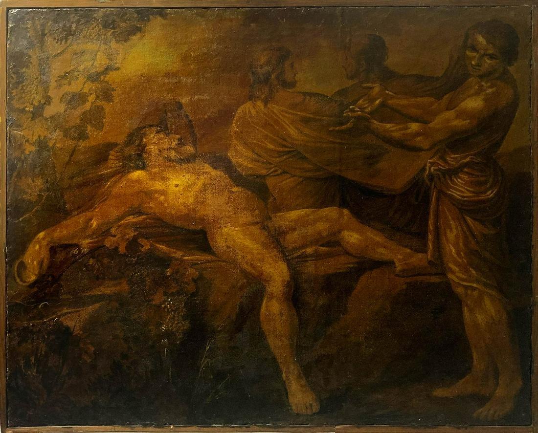 Italian painter from the 18th century. Noe's