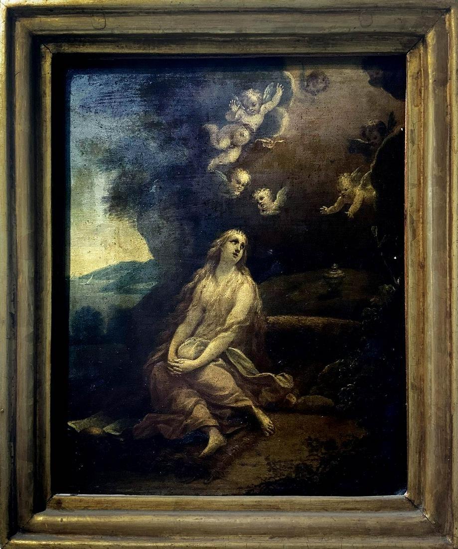 Italian painter from the 17th century. Mary Magdalene