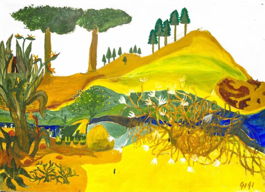 Alampo Luigi (Catania, 1970 ? 2004, Catania).Landscape.