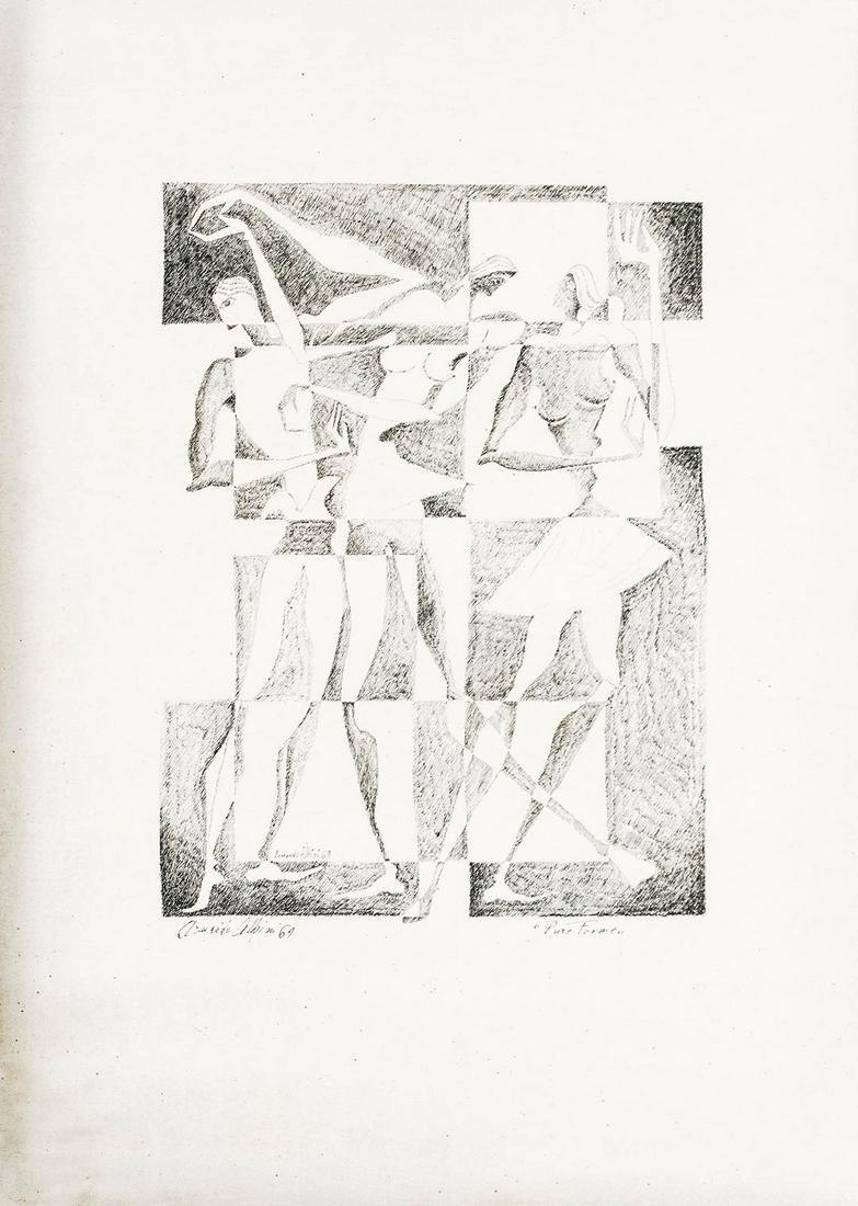 Armando Albini (Rome, 1911- Catania, 1993). Pure
