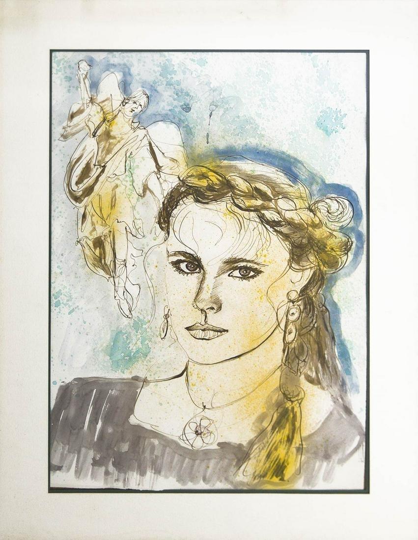 Paolini Parlagreco Graziella (Alessandria, 1936). Young