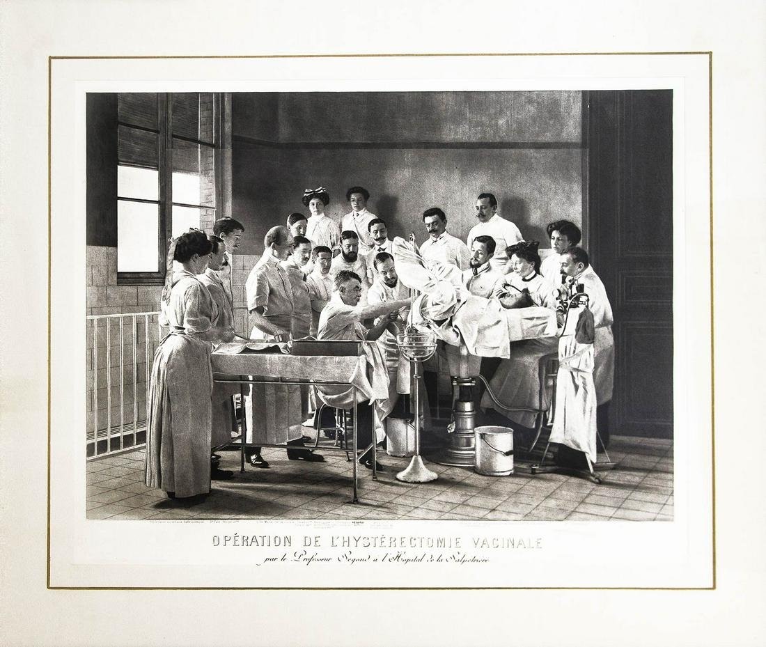 Early 20th century, 'L'Ope'ration de l'hyste'rectomie