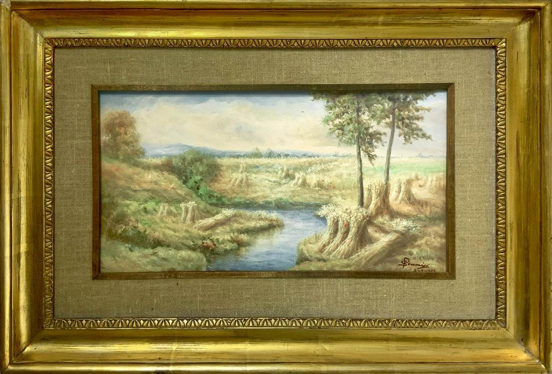Sebastiano Pennisi (Acireale 1887). Rural landscape