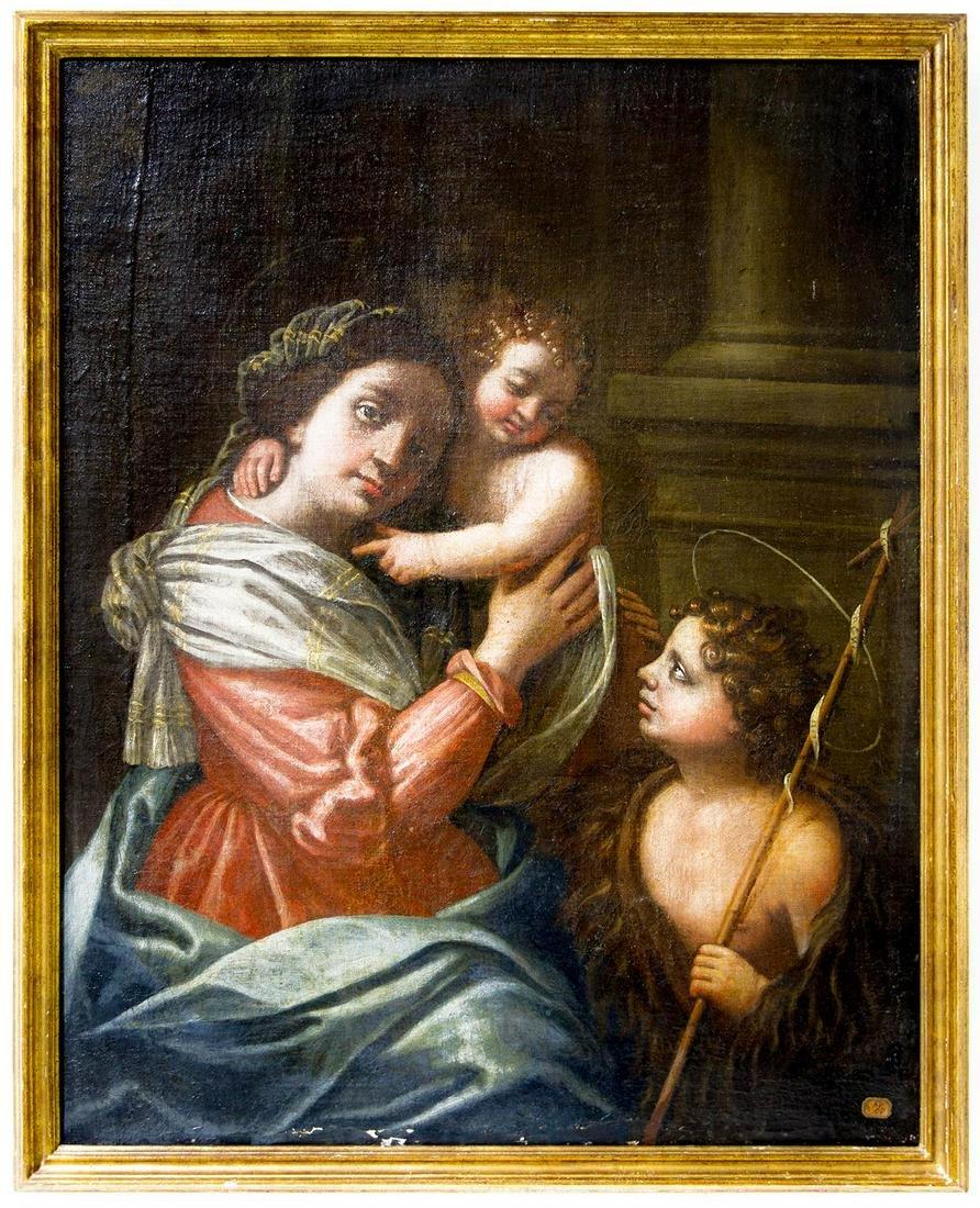 Italian painter form the 18th century. Virgin Mary with
