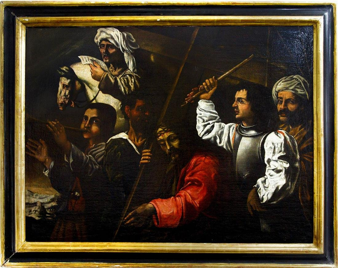 Sicilian painter from the 17th century. Caravaggio