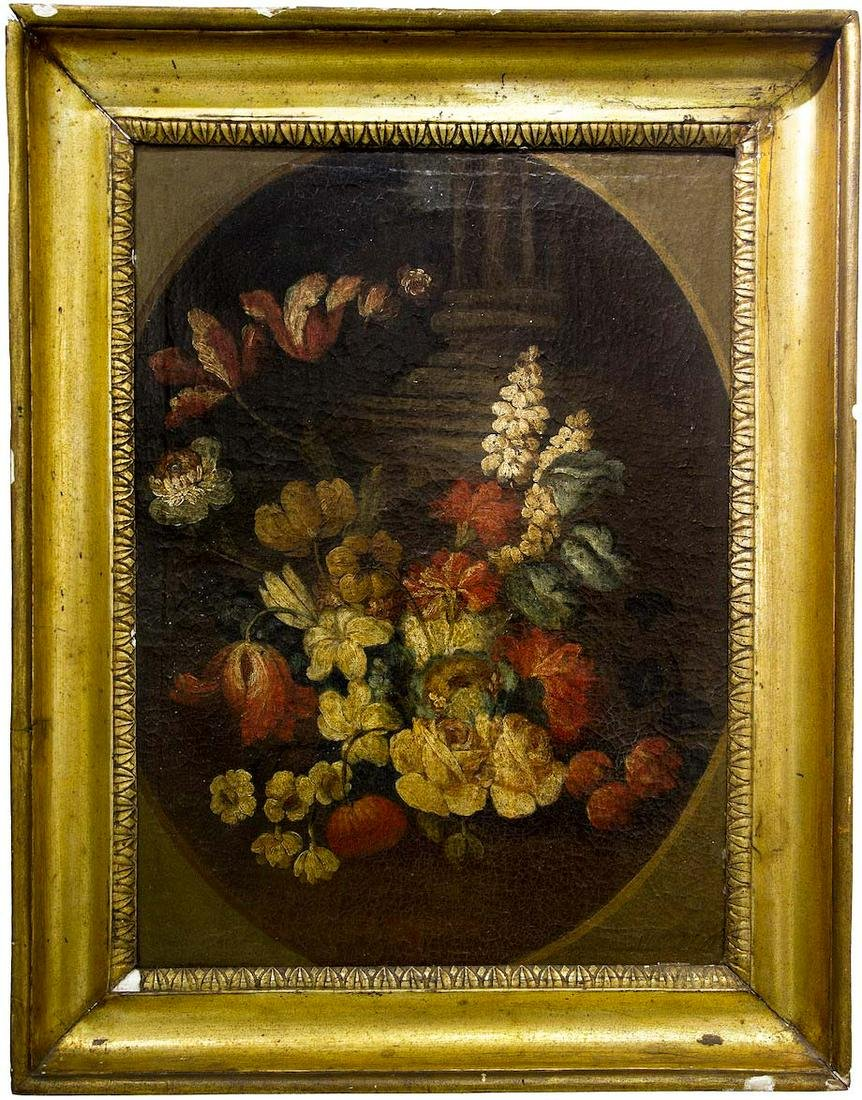 Italian painter from the 17th/18th century. Still life