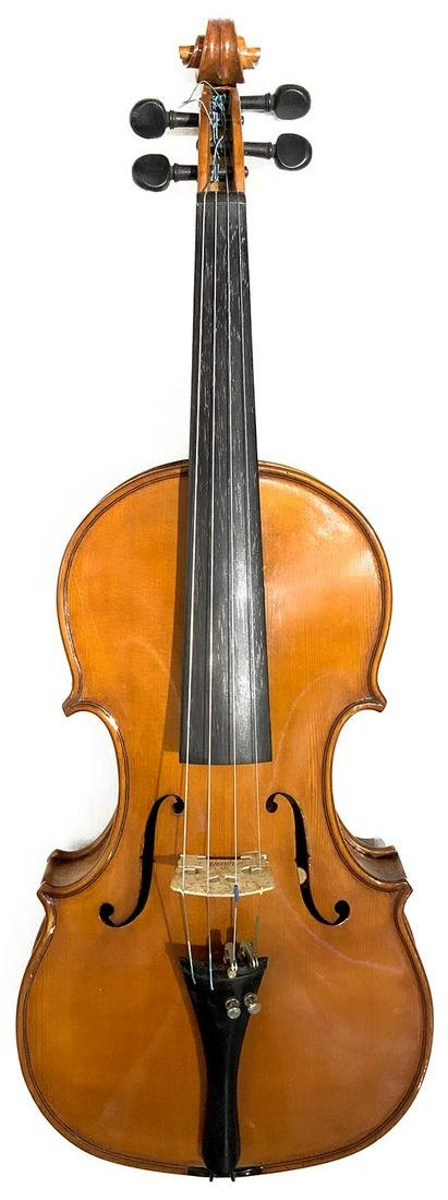 Violin made by master luthier Alfio Grancagnolo base on