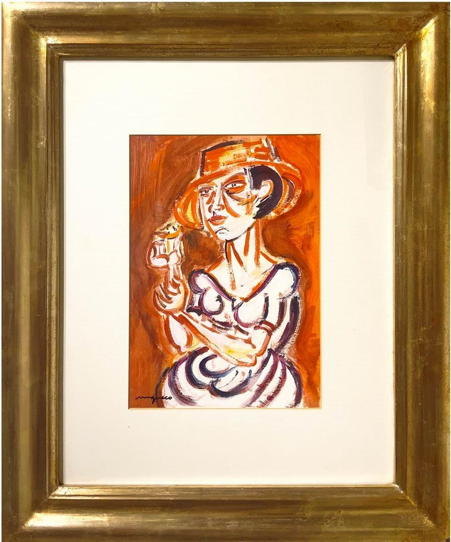 Giuseppe Migneco (Messina 1903 ? Milan 1997). Woman