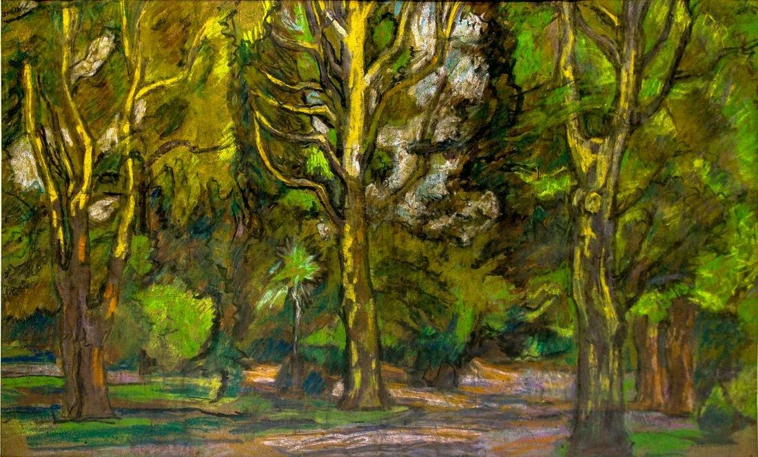 Romolo Venucci (Fiume 1903 ? Fiume 1976). Landscape,