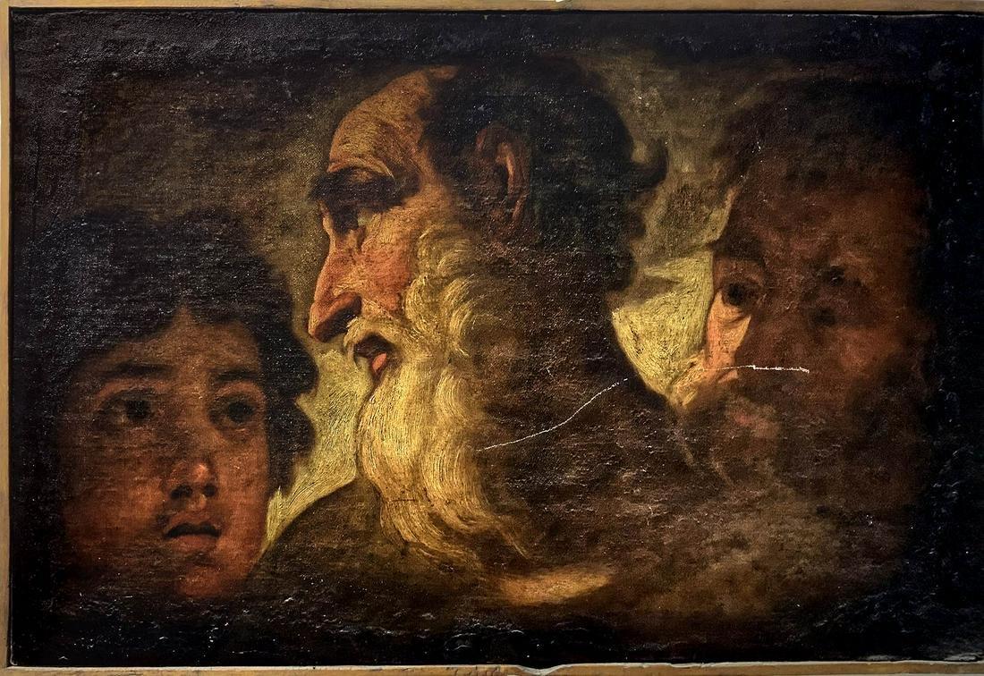 Veneto, 18th century. The three ages of a man. Three