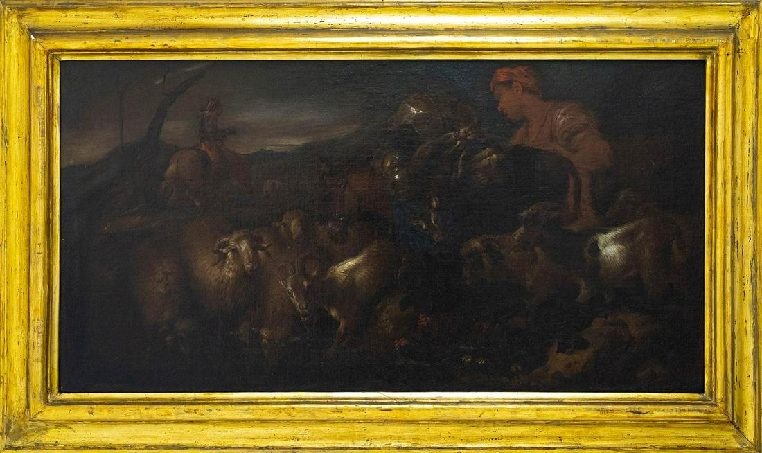 Castiglione Benedetto Giovanni called il Grechetto
