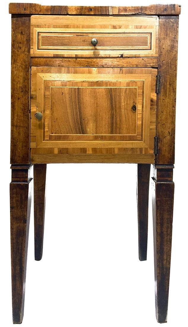 Night stand table, Louis XVI. H cm 73x40x30.