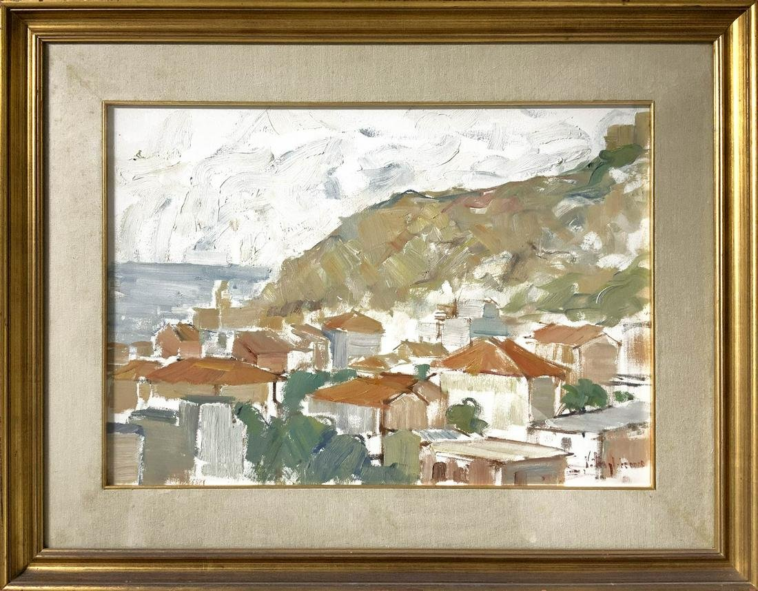 Salvatore Vitagliano (Napoli 1950). 50x 70, oil paint