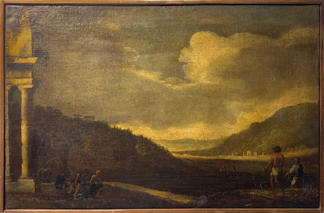 Ambito di Nicolo' Codazzi (Napoli 1642-Genova 1693).