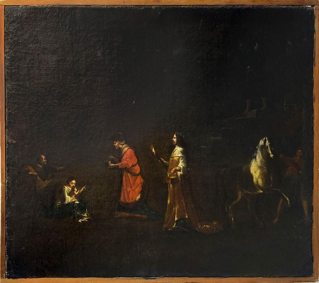 Cornelio Brusco circle (present in Naples 1588 ca-1635