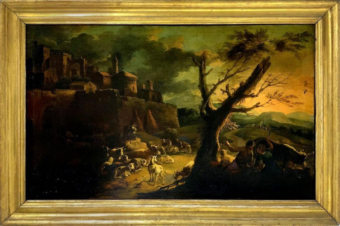 Italian painter from the 17th/18th century, Romano