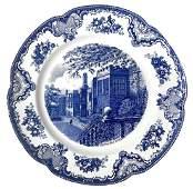 Johnson Bros England, Old Britain Castles. Dish. cm 32