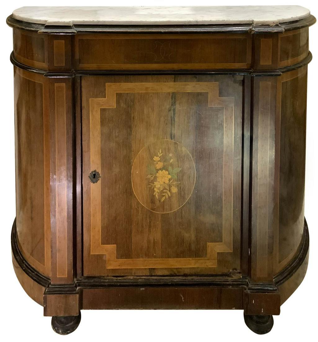 e'tage're, nineteenth century Sicily. In walnut wood