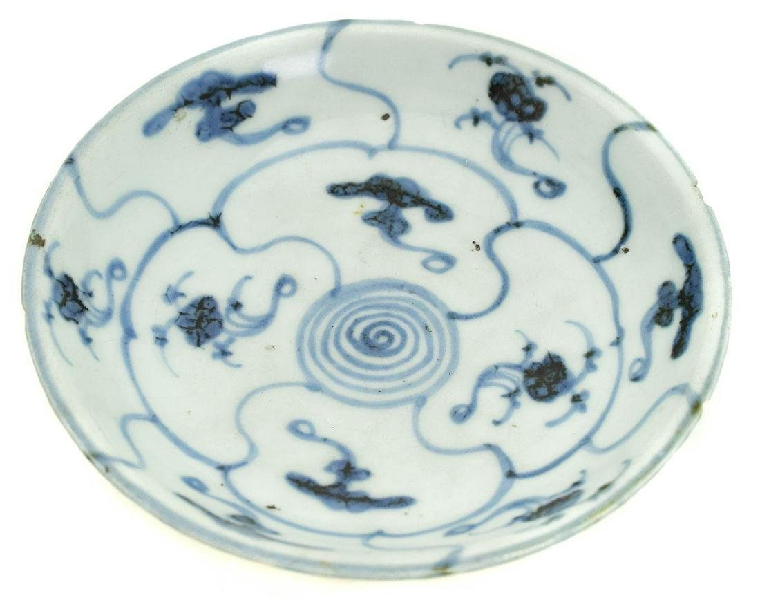 Small plate, China, nineteenth century. 15 Cm