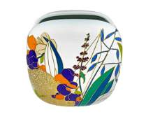 W.Bauer, Rosenthal Studio Line, vase painted with a