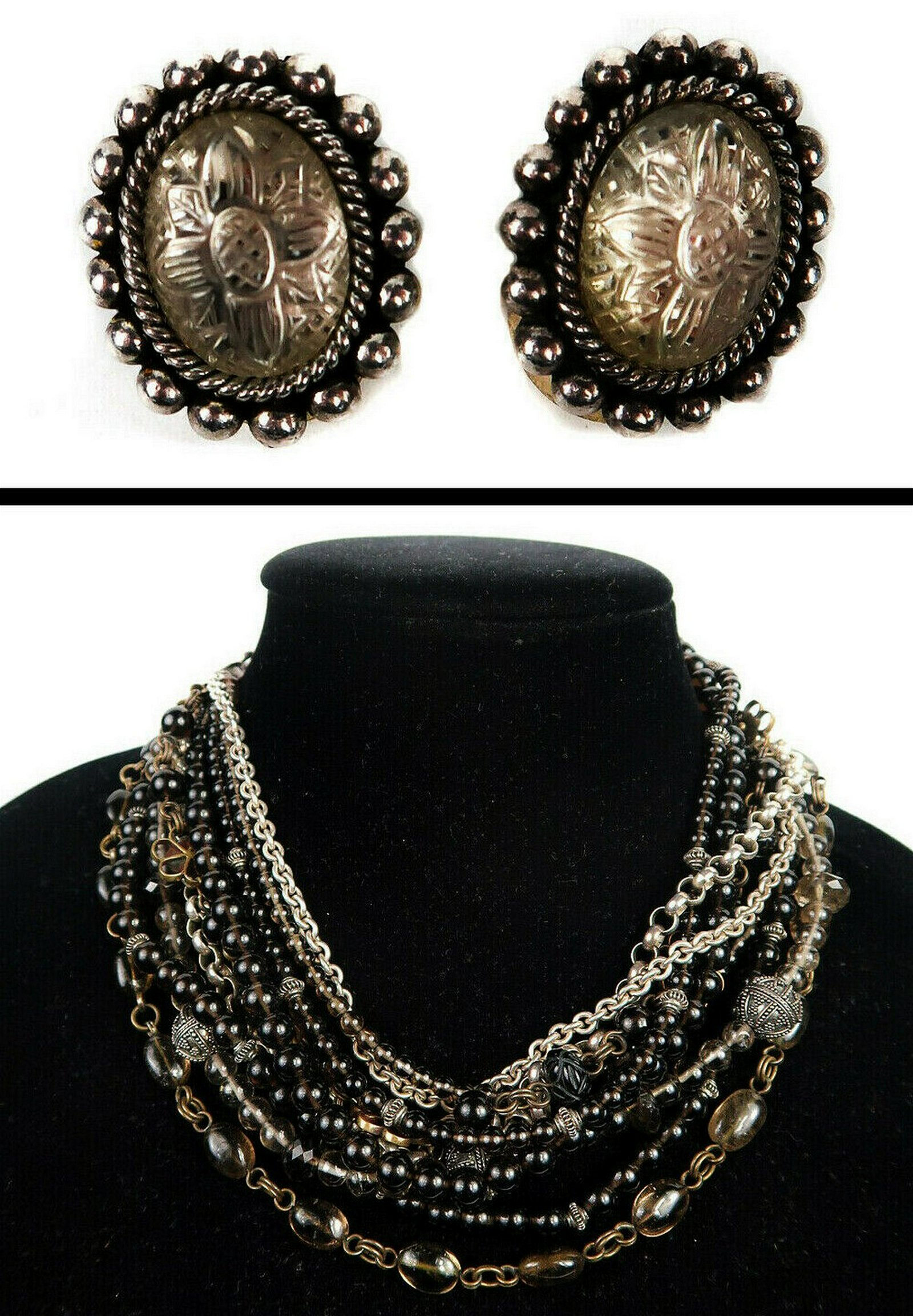 Stephen Dweck Necklace & Earrings Set - Sterling Silver