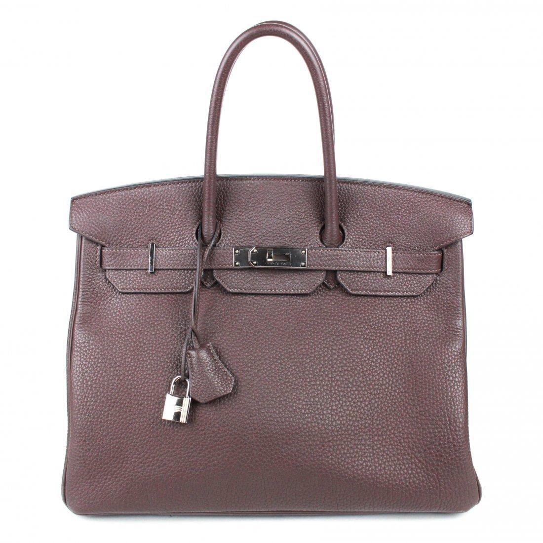 Hermes - 2018 Birkin 35 cm Bag - Brown Togo Leather -