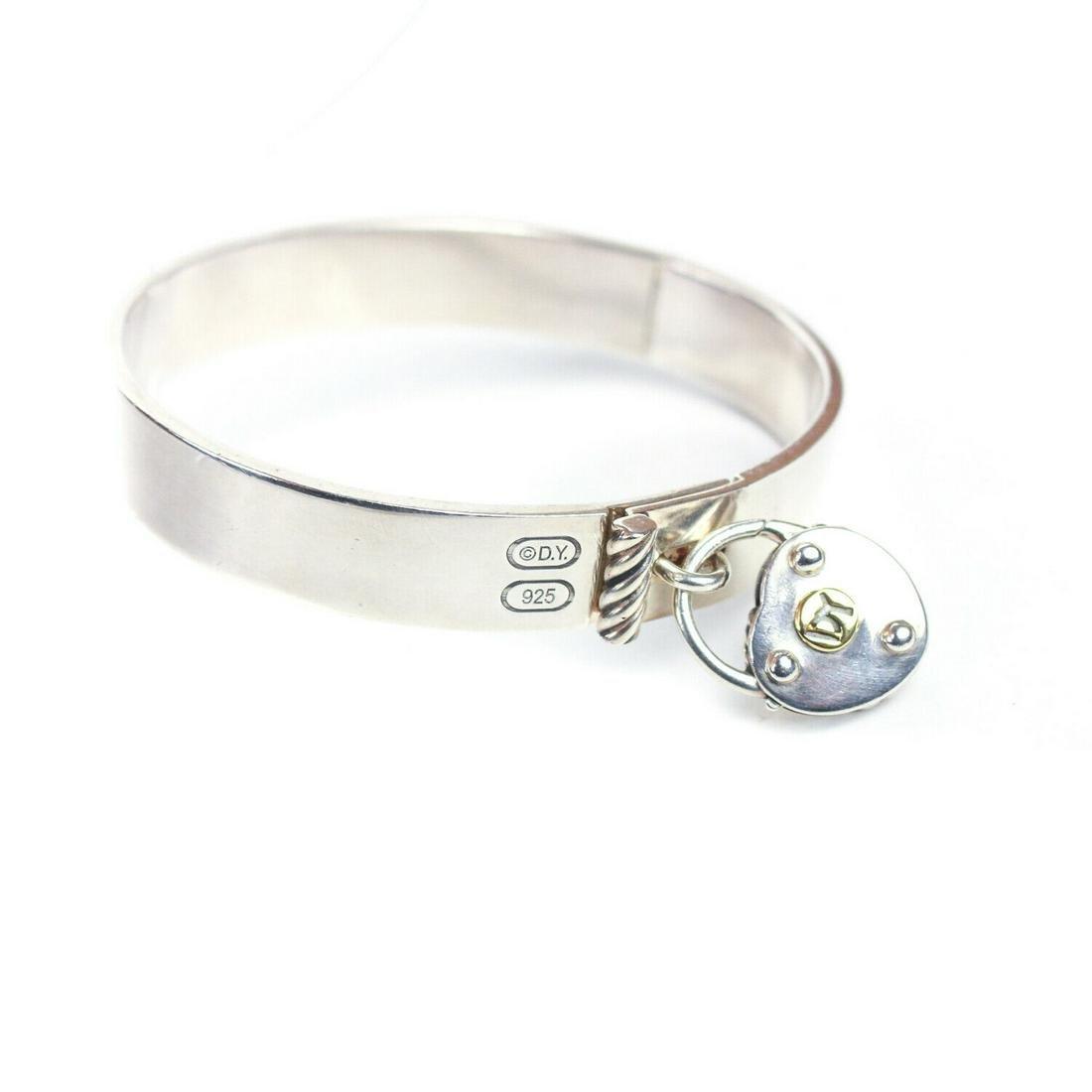 David Yurman - Heart Lock Bracelet - Sterling Silver