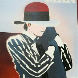 Ducelier - Large Art Print - Man Pull - 1930 Original