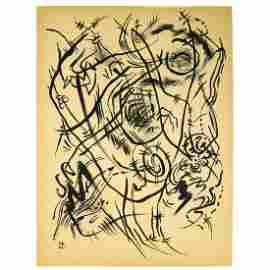 Wassily Kandinsky - Ink on paper - Original