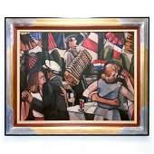 Francois Chabrier - Art - Le Bal Du 14 Juillet