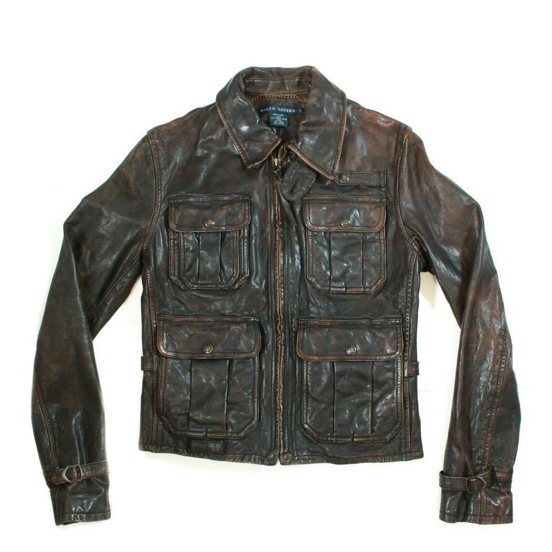 Ralph Lauren - 4 Pocket Leather Jacket - Women