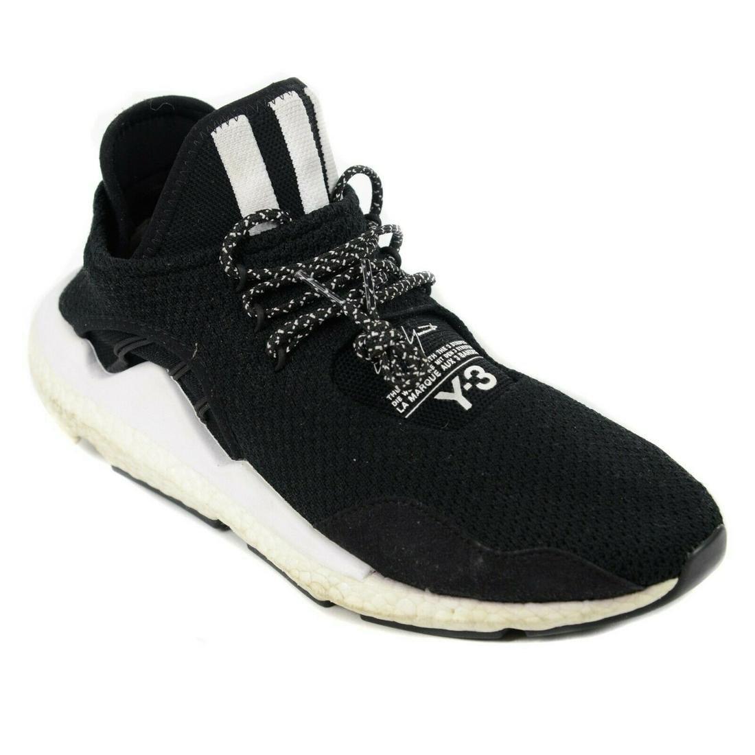 Y-3 x Adidas - Saikou Sneakers - Black White - US 9