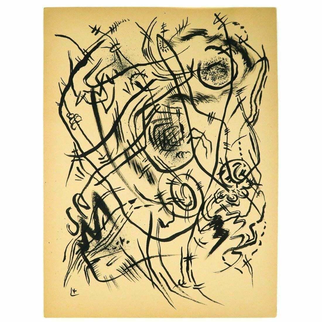 Wassily Kandinsky - Ink on paper - Original Art