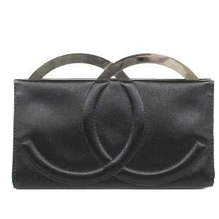 Chanel - Rare Collectors Vintage CC Clutch Bag   Color: