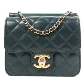 Chanel - Quilted CC Chain Crossbody Flap Bag  Color: