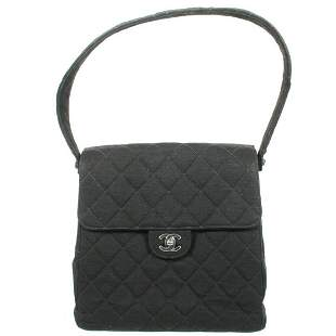 Chanel - Vintage CC Turn Lock Double Flap Quilted