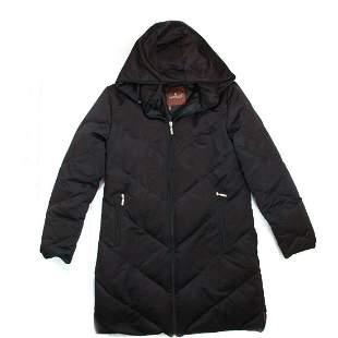 Moncler - Long Hooded Puffer Coat - Women's US 2
