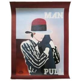 Ducelier - Unknown Man Pull - 1930 Original Color