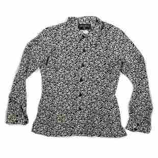 Chanel - Vintage Long Sleeve Collared Button-Down