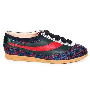 Gucci - New - Womens GG Web Stripe Sneakers - US 5