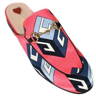 Gucci - New Princetown Geometric Slipper Mules - US 8