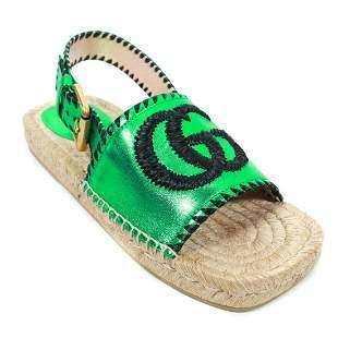 Gucci - New 2020 Pilar GG Espadrille Sandals - US 6