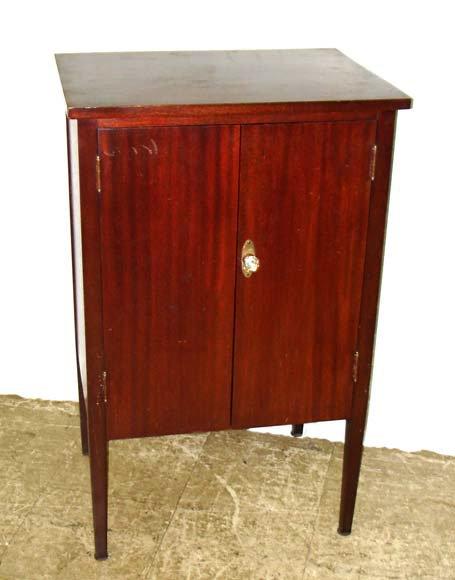 708: A Fine Mahogany Sheet Music Cabinet