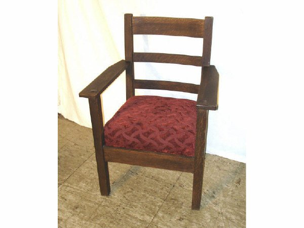 138: An Original LIFETIME Mission Oak Chair