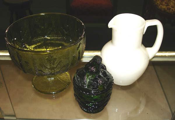 6: A Lot of 3 Pcs. Assorted Glassware