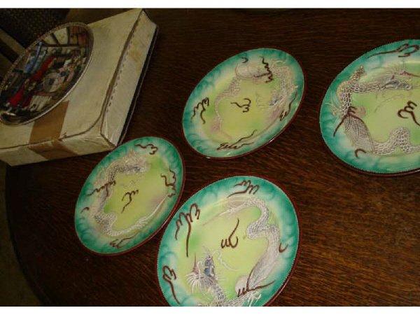 15: Lot of Dragonware Plates Plus
