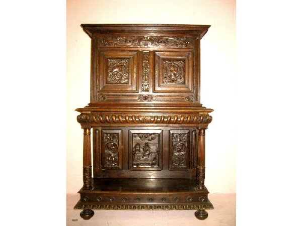 810: An Early 19th Century French Carved Cabinet