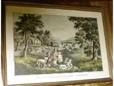 972 The Four Seasons of Life Childhood Print